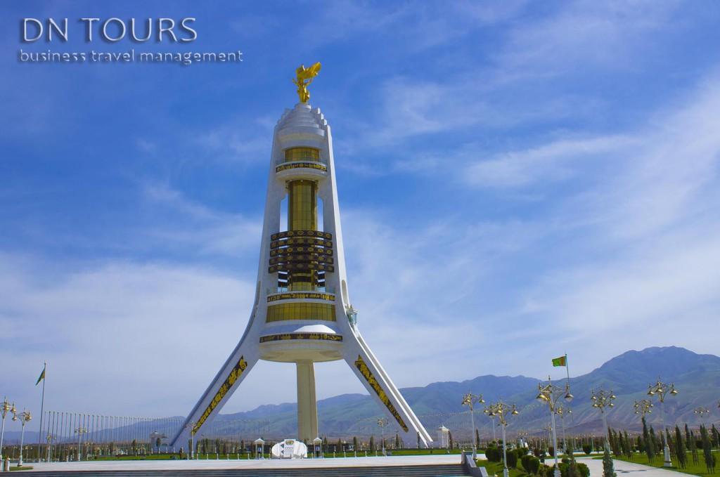 Арка Нейтралитета, Ашхабад, Туркменистан