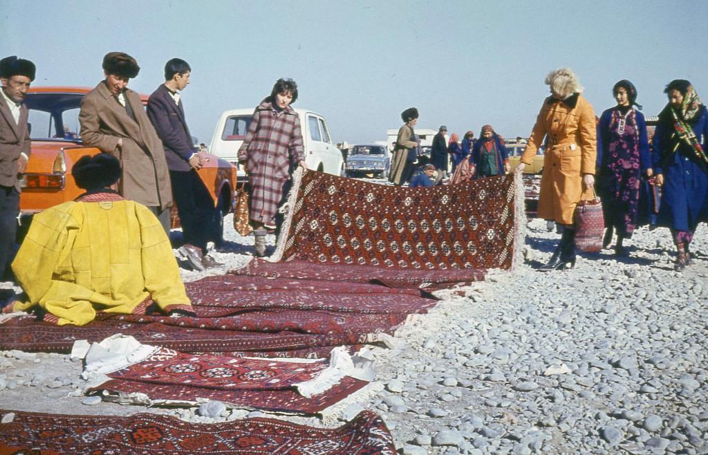 Базар ковров (старый), Туркменистан