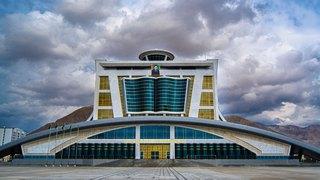 Библиотека город Балканабад панорама