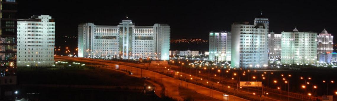 Столица Туркменистана — Ашхабад
