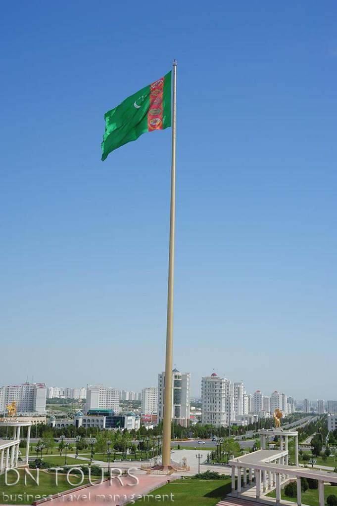 Флагшток, Ашхабад Туркменистан