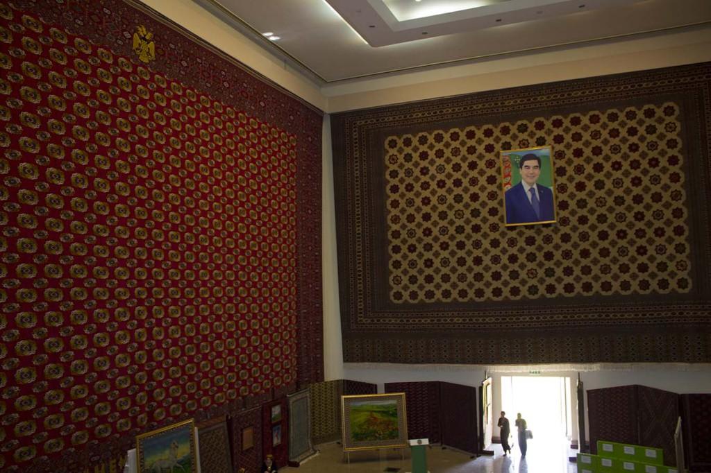 Национальный музей ковра, Ашхабад, Туркменистан