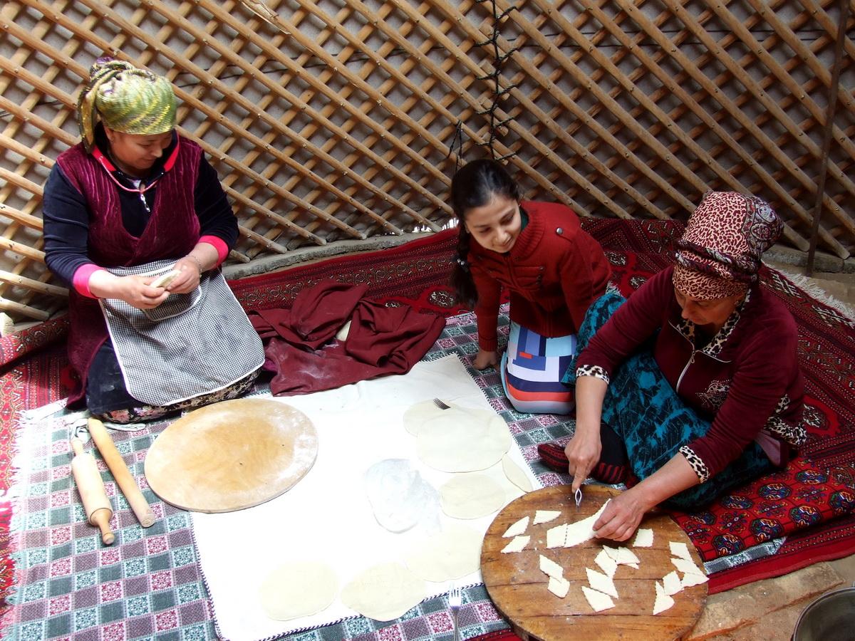 Люди Туркменистан