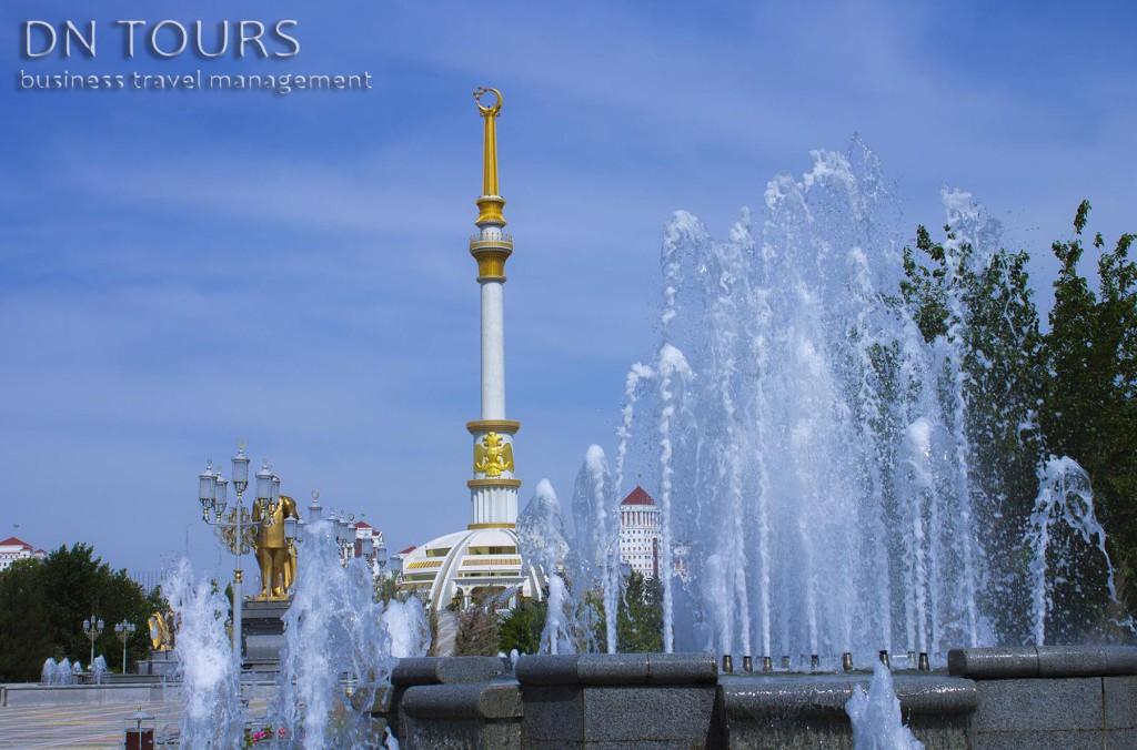 Монумент Независимости (2) Ашхабад Туркменистан