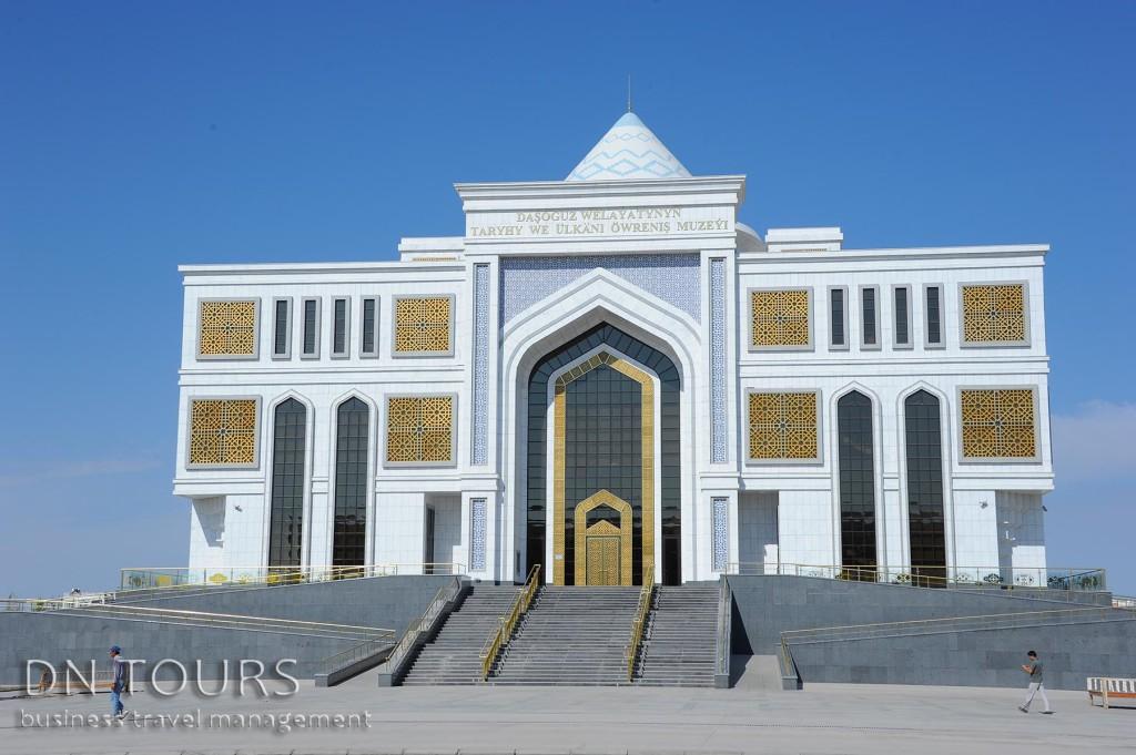 Национальный Музей Ташауза, Дашогуз Туркменистан (1)