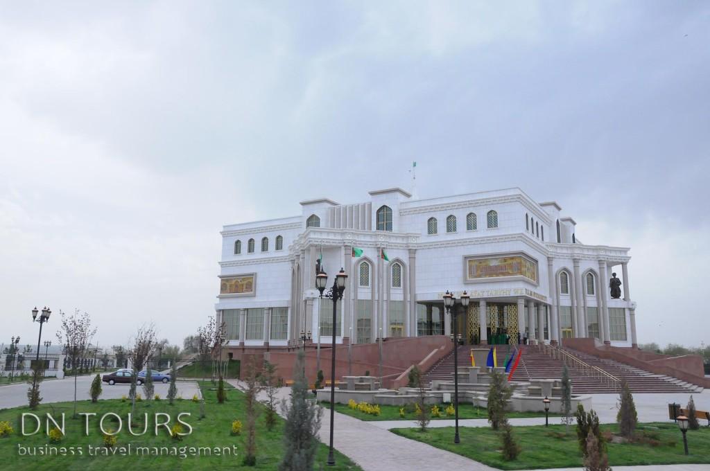 Национальный музей Мары, Туркменистан (1)