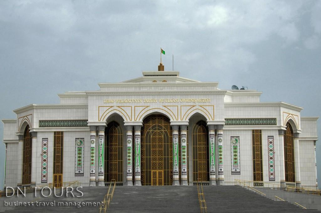 Национальный музей Туркменабада (1)
