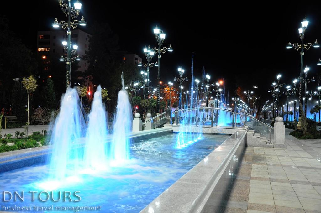 Ночной Ашхабад (1)