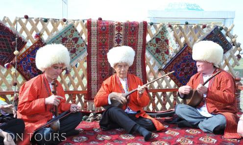 Народное творчество Туркменистана (4)