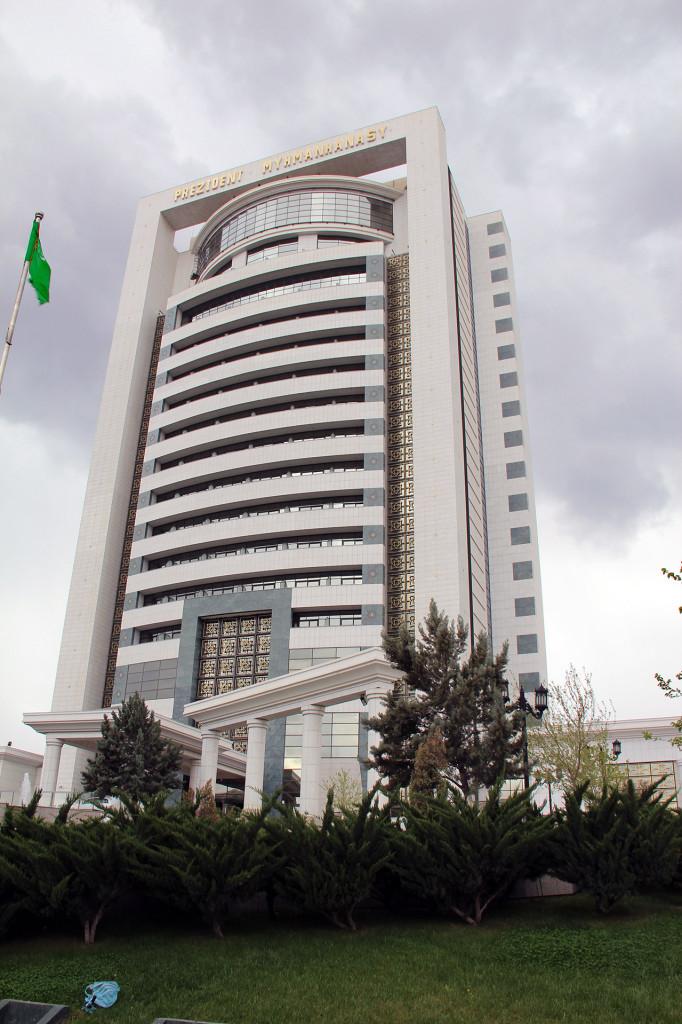 Отель Президент, Ашхабад, Туркменистан (2)