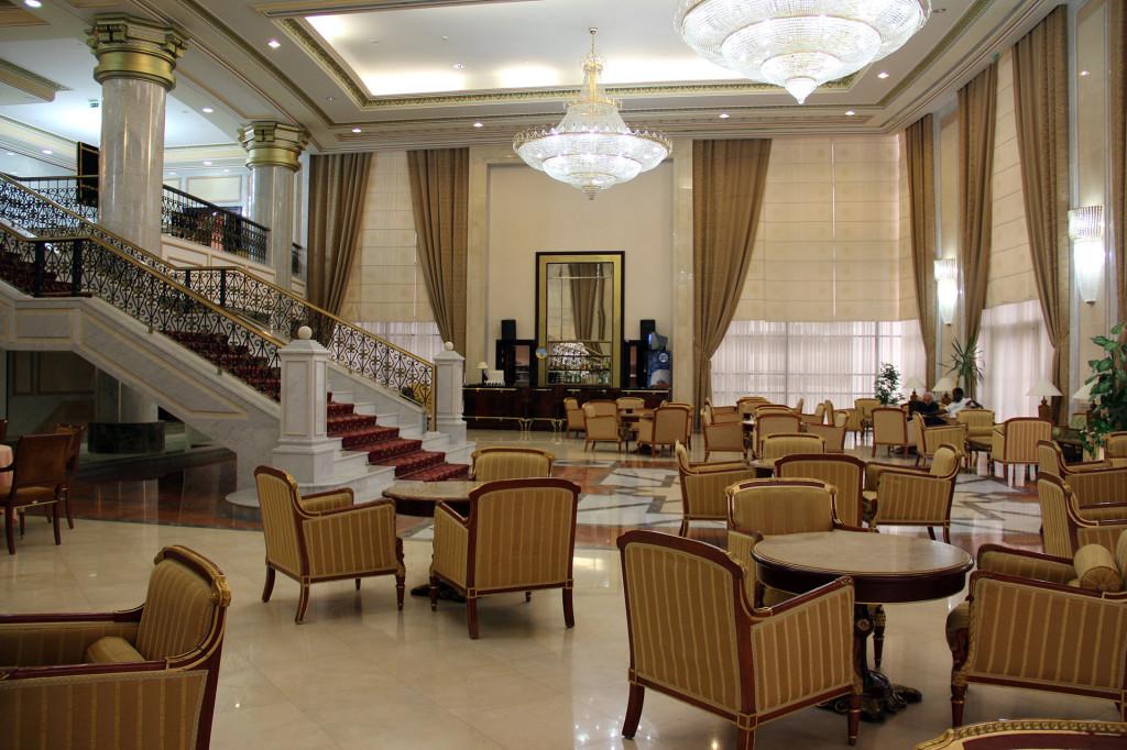 Отель Президент, Ашхабад, Туркменистан (9)