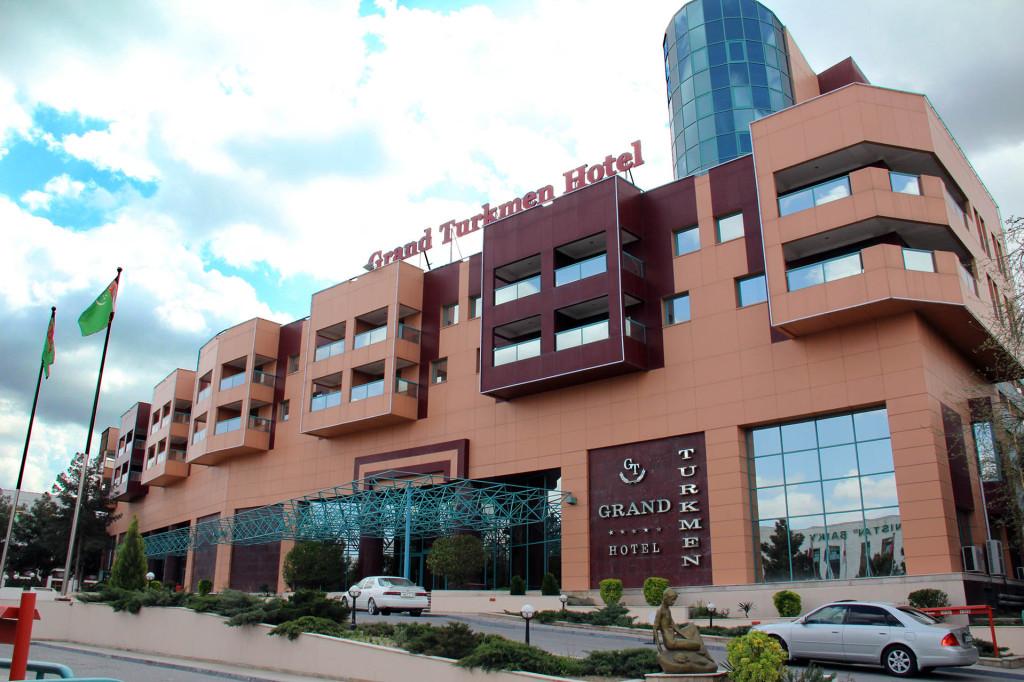 Отель Sheraton Grand, Ашхабад, Туркменистан (2)