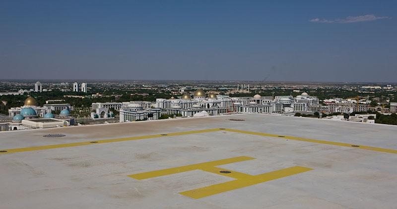 Отель Софитель Огузкент, Ашхабад, Туркменистан