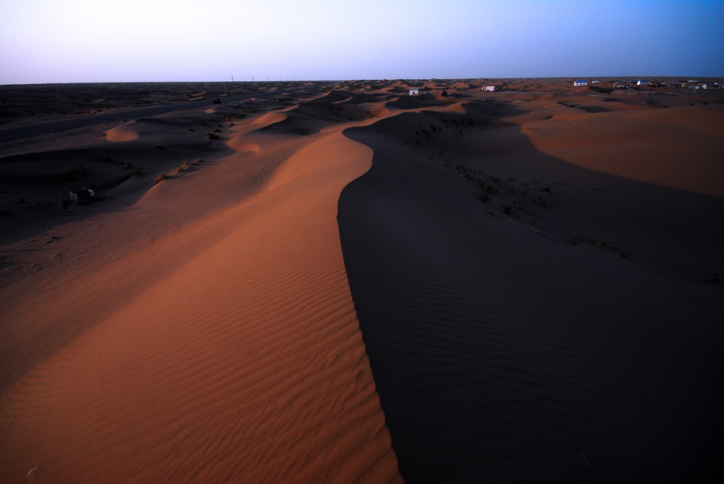 Пустыня Каракум Туркменистан