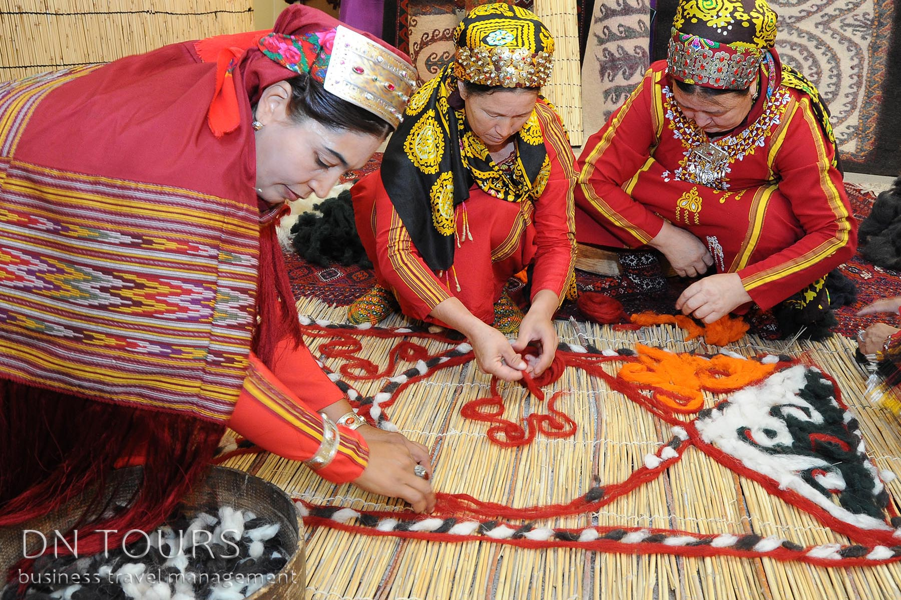 Рукодельные изделия, народное творчество Туркменистан (3)