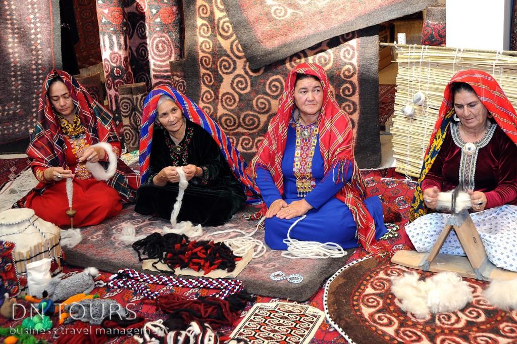 Рукодельные изделия, народное творчество Туркменистан (6)