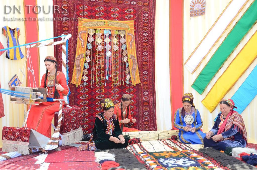 Рукодельные изделия, народное творчество Туркменистан (7)