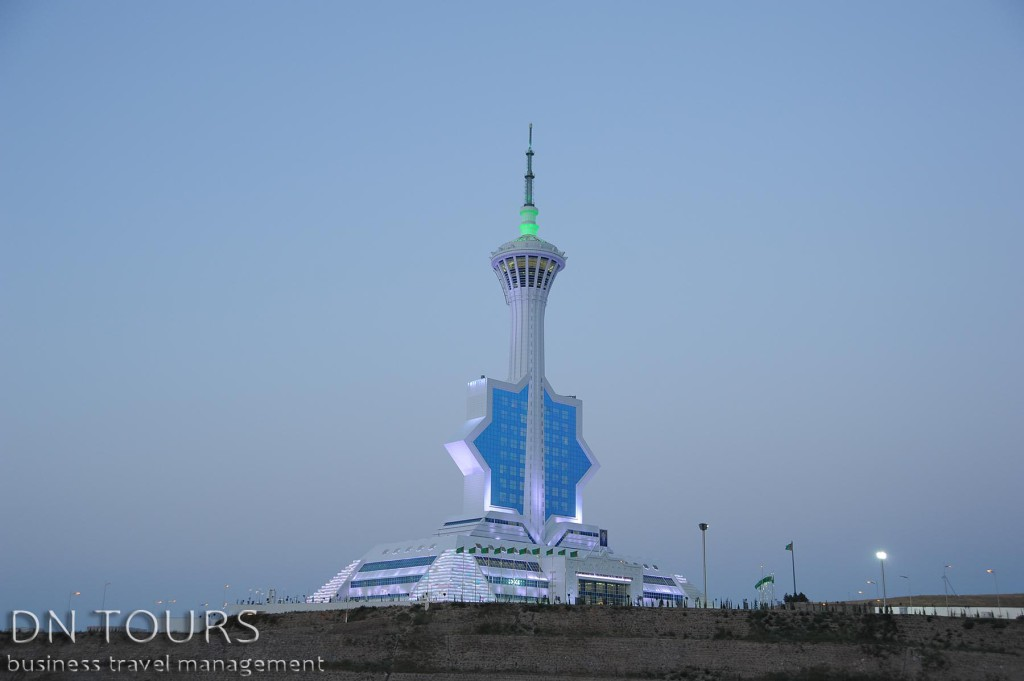 Студия телевещания, Ашхабад Туркменистан
