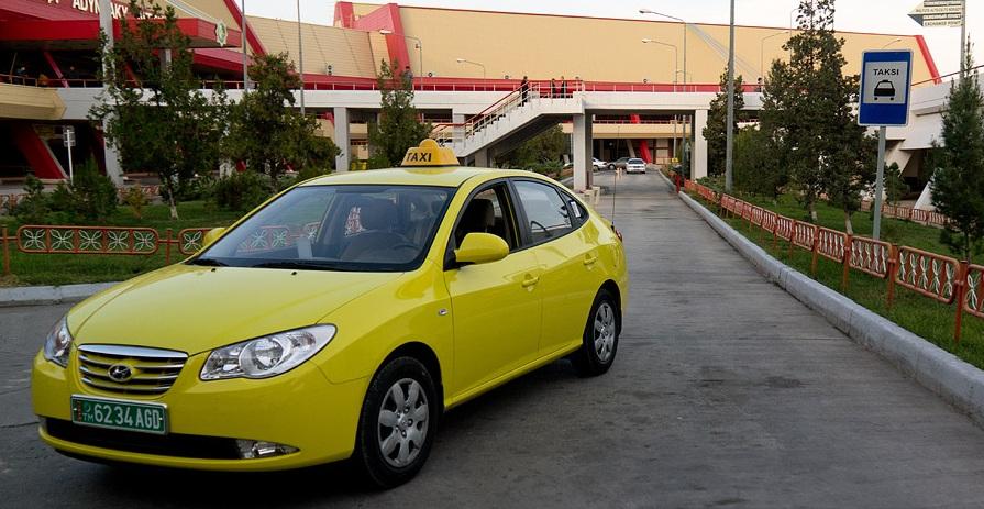 Такси, Ашхабад, Туркменистан