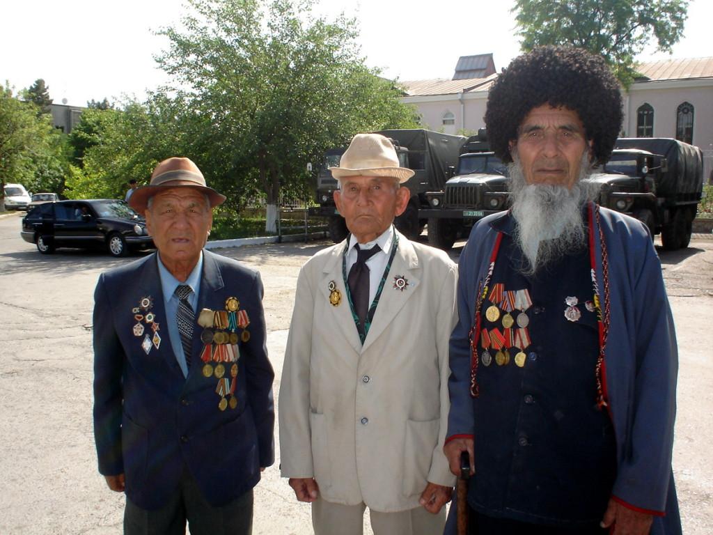 Ветера Второй Мировой Войны, Туркменистан