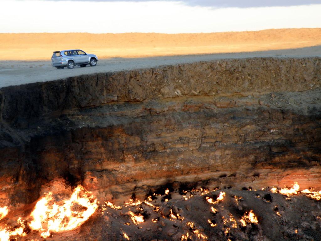 Врата в ад, Туркменистан
