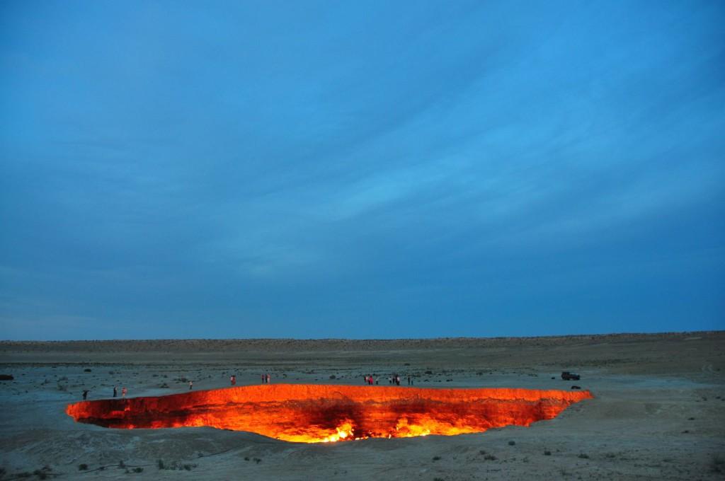 Ворота в Ад, Туркменистан (2)
