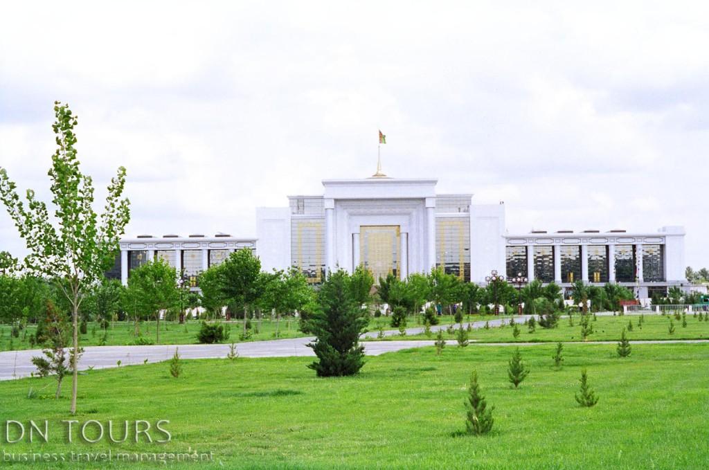 Выставочный центр ВДНХ Ашхабад Туркменистан