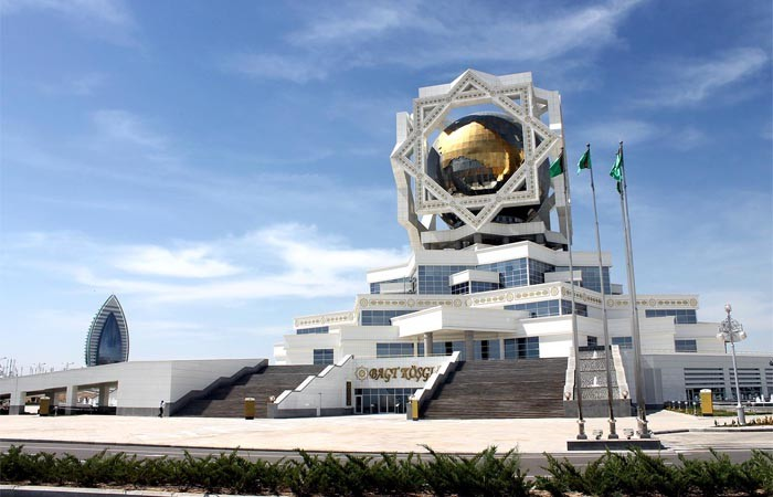 ЗАГС, Центр бракосочетаний Ашхабад, Туркменистан (2)
