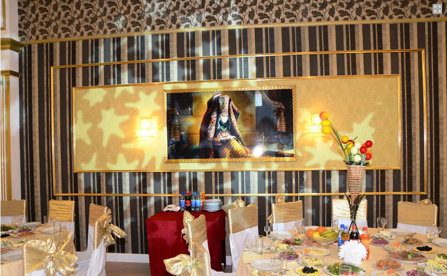 Банкетный зал, отель Ак Алтын, Ашхабад, Туркменистан