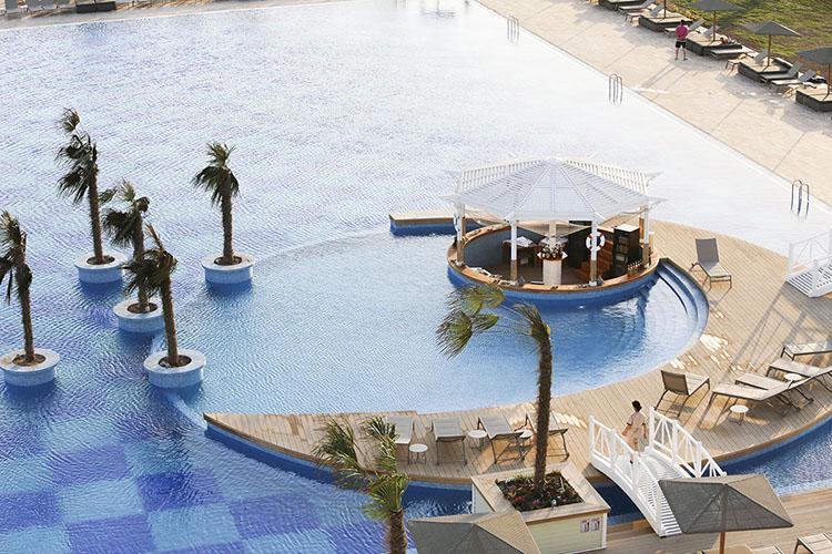 Бассейн Яхт Клуб Елкен, Национальная туристическая зона Аваза Туркменистан