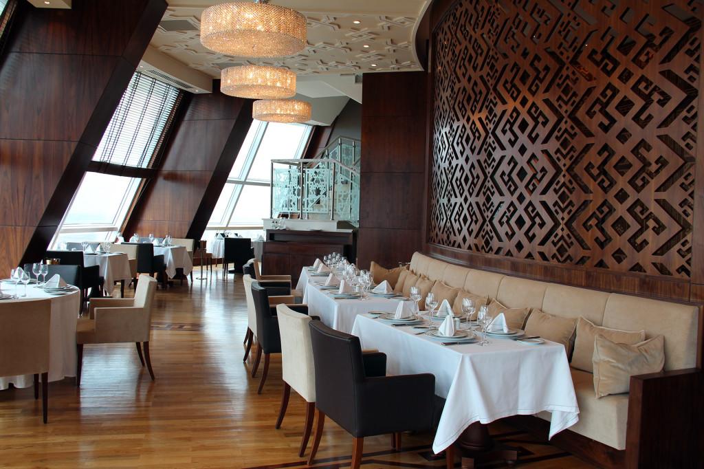Отель Йылдыз, ресторан, Ашхабад Туркменистан