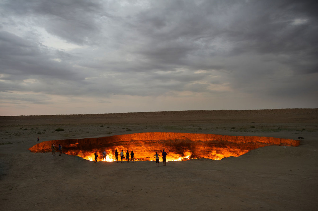Дерваза, Врата в ад, Дверь в ад, Door to hell, Туркменистан