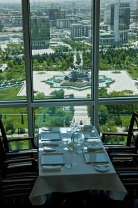 Отель Огузкент, ресторан Ашхабад Туркменистан