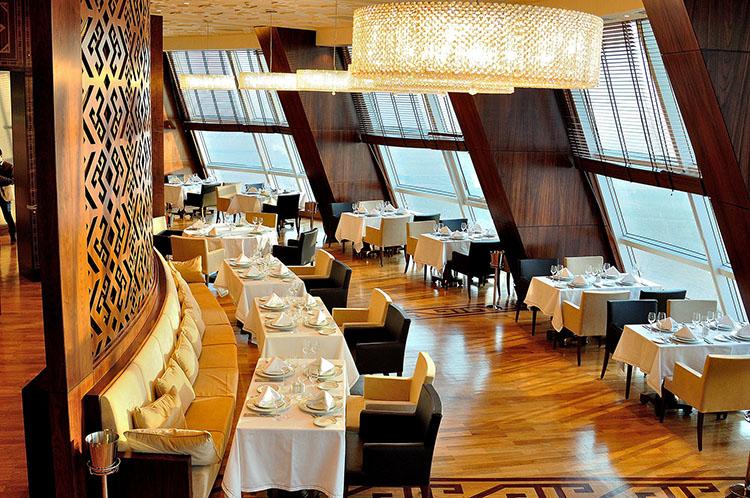 Отель Йылдыз, ресторан, Ашхабад Туркменистан (2)