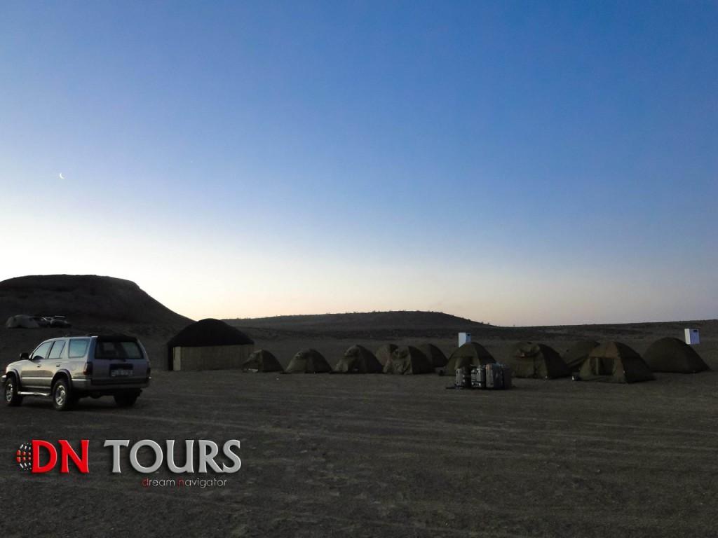 Утро в Дарвазе, Двери Ада, Туркменистан