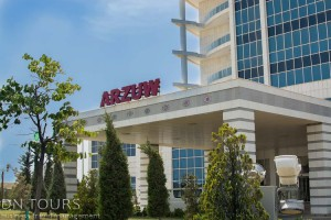 Ресторан Отель Арзув, Аваза, Туркменбаши, Туркменистан (6)