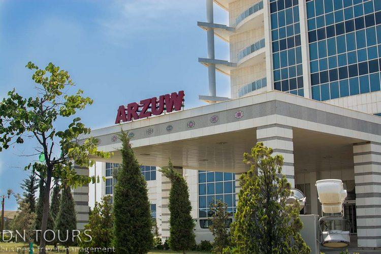Отель Арзув