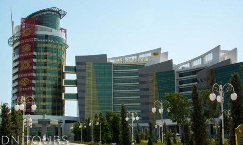 Отель Беркарар Аваза Туркменистан