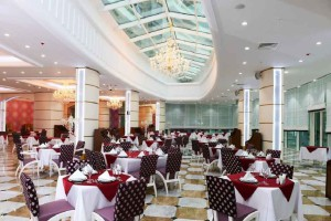 Отель Беркарар, ресторан 13 этаж, Аваза Туркменистан