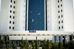 Конференц зал, Отель Небитчи, Аваза, Туркменбаши, Туркменистан