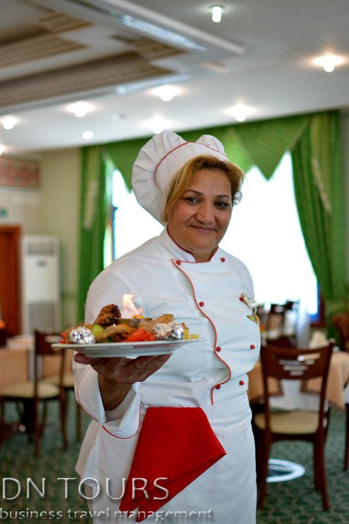 Шеф повар Отель Туркменбаши