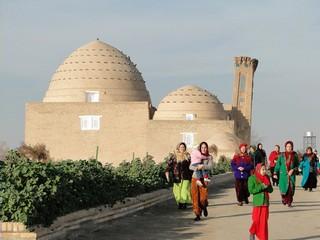 Древние монументы в Туркменистане