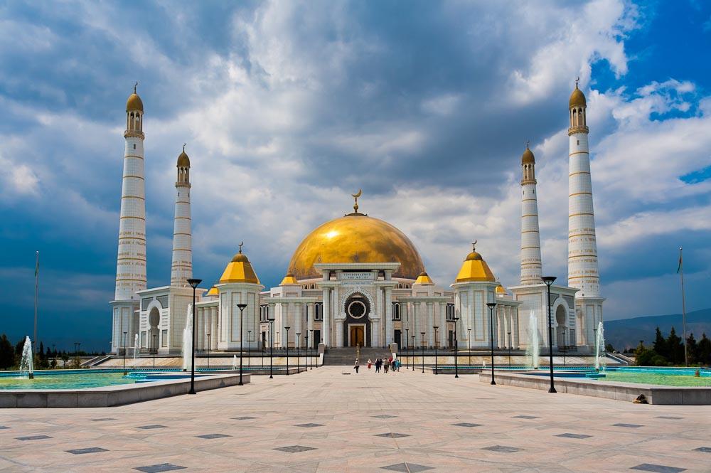 Мечеть мавзолей Ашхабад