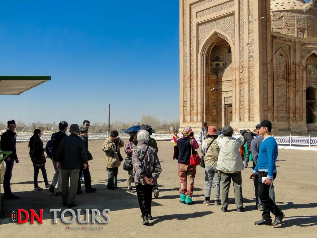 Куня Ургенч, Туркменистан туристы