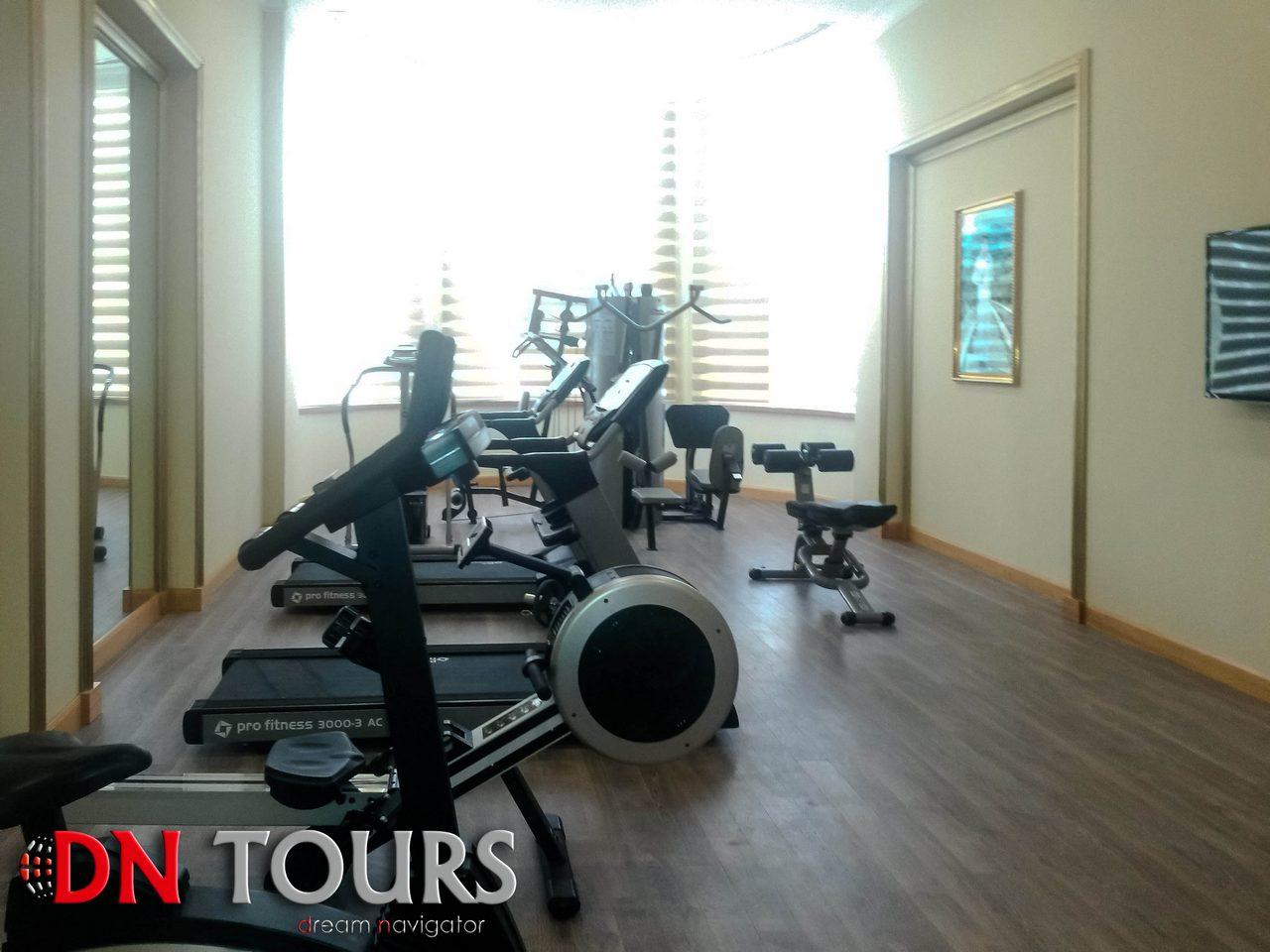 Отель Мары Туркменистан Фитнесс центр