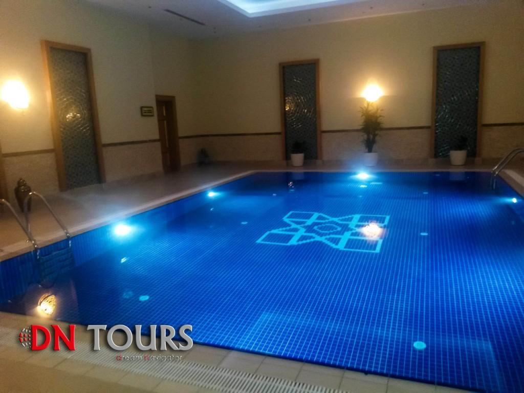 Отель Мары Туркменистан бассейн