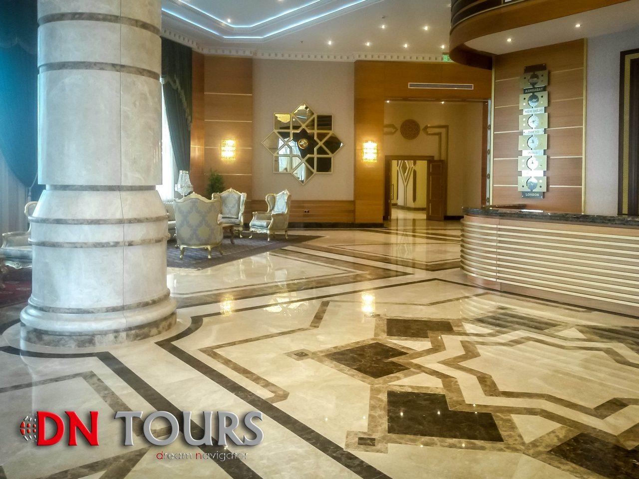 Отель Мары Туркменистан лобби