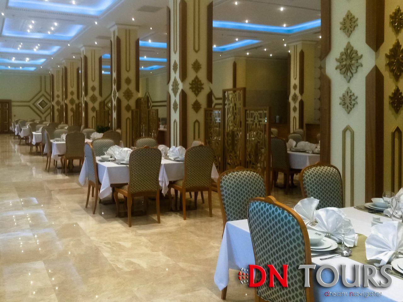 Отель Мары Туркменистан ресторан