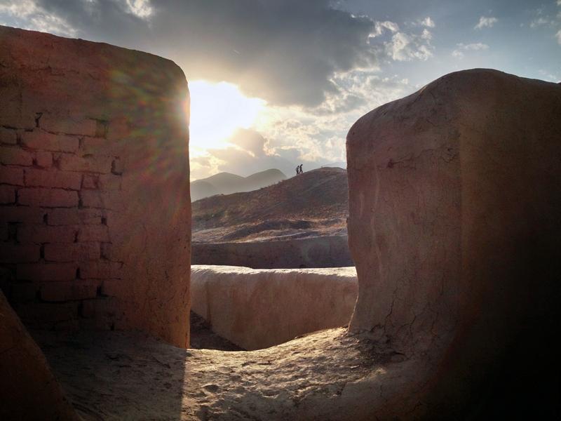 Развалины древнего города Ниса, Туркменистан (2)