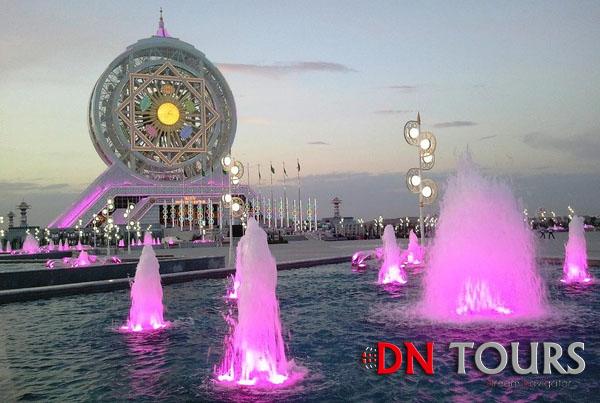 Развлекательный центр Алем, Ашхабад, Туркменистан